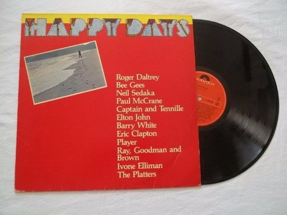 Lp Vinil - Happy Days - Coletanea Rock Pop Internacional