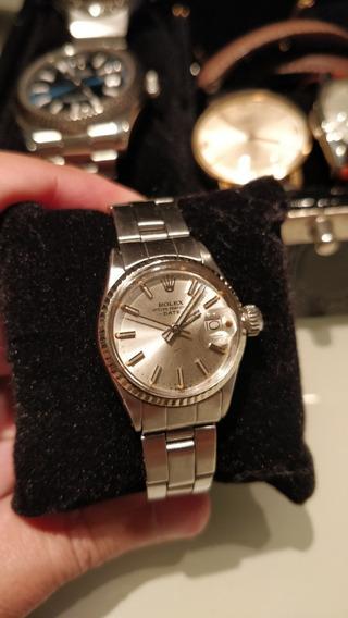 Rolex Oyster Perpetual Date 6517 Feminino Imperdivel