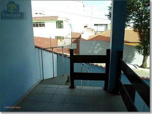 Sobrado Com 3 Dormitórios À Venda, 232 M² Por R$ 600.000,00 - Parque Capuava - Santo André/sp - So1265
