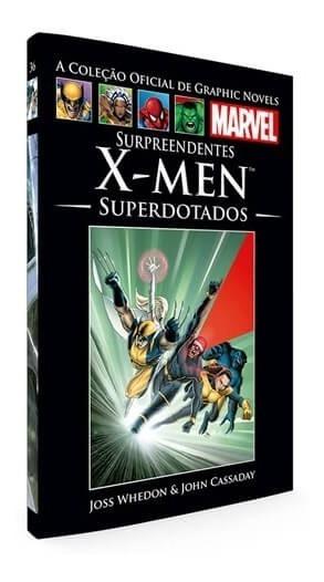 Graphic Novels Marvel 36 - X-men - Editora Salvat