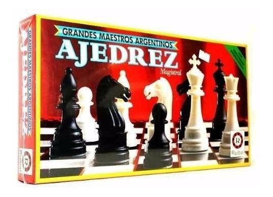 Juego De Mesa Ajedrez Magistral Ruibal