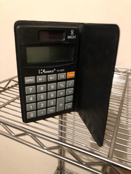 Calculadora Kenko Kk-2220 Con Cubierta Sin Pilas