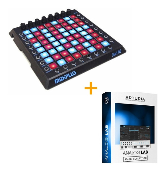 Midiplus Smartpad 64 Pads Ideal Ableton Launchpad Dj + Vst