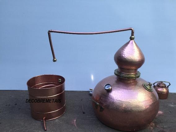 Alambique De Cobre Produção De Whisky 100 Litros