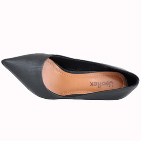 02660928bc Sapato Scarpin Chanel Preto Usaflex - Sapatos no Mercado Livre Brasil