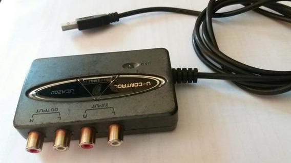 Placa De Audio Uca200 Behringer