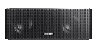 Bocina Philips SB365 portátil inalámbrica Negro