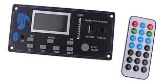 Placa Decodificador Mp3 Wma Bluetooth Inalámbrico Módulo D