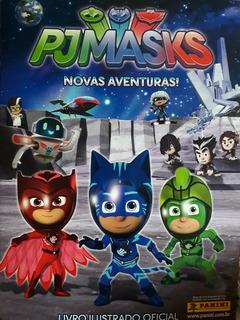 Pjmasks Album + 30 Pacotinhos De Figurinhas