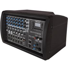Mixer Amplificado 7 Canais 250w 4 Ohms Pwd250 Ll Áudio