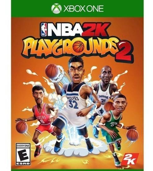 Nba 2k Playrounds 2 (mídia Física) - Xbox One (novo)