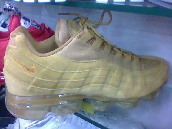 Tenis Nike Air Max 95 Plus Dourado Nº38 A 43 Original