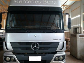 Caminhão M.b 2426 Atego 8x2 Bitruck 2013 Único Dono