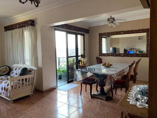 Apartamento Com 3 Dormitórios À Venda, 147 M² Por R$ 600.000,00 - Vila Galvão - Guarulhos/sp - Ap14347