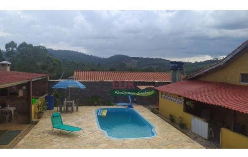 Imagem 1 de 21 de Chácara Com 2 Dormitórios À Venda, 2000 M² Por R$ 540.000 - Centro - Biritiba Mirim/sp - Ch0833
