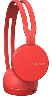 Fone Bluetooth Wh-ch400/h Vermelho Sony Wireless Com Mic