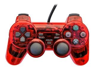 Control Ps2 Remoto Para Play Station 2 Con Cable - Colores