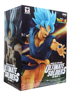 Dragon Ball Super Movie Ultimate Soldiers Banpresto Ss Blue