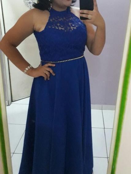 Vestido De Festa- Azul