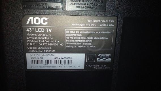 Tv Aoc Em Peças 43