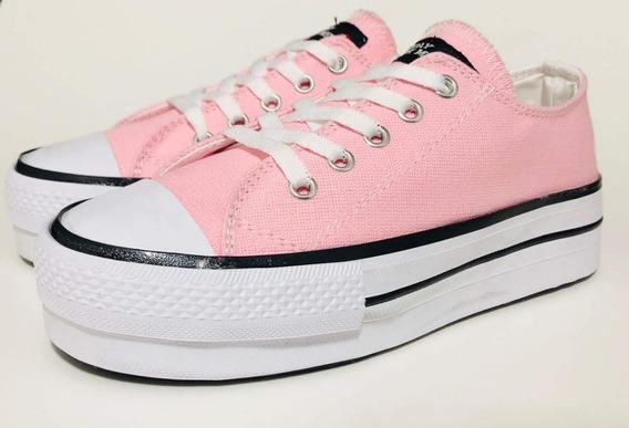 mejor selección 29f48 8d27f Zapatillas Con Plataforma Sin Cordones Mujer - Zapatillas ...