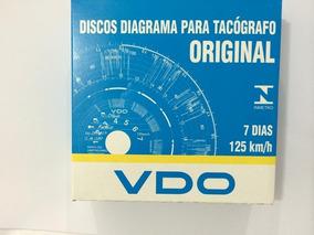 Disco Tacografo Semanal 125km Vdo (10 Cxs)