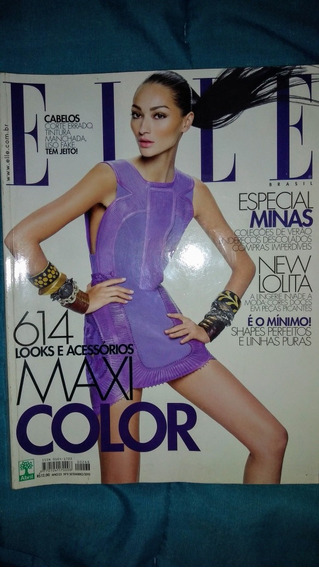 Revista Antiga Elle 2010