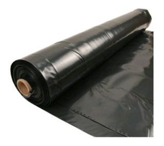 Plastico Negro, Polietileno De 3, 4 Y 6 Mt De Ancho