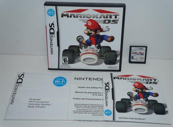Ds: Mario Kart Ds Original Americano Completo!! Jogaço!!