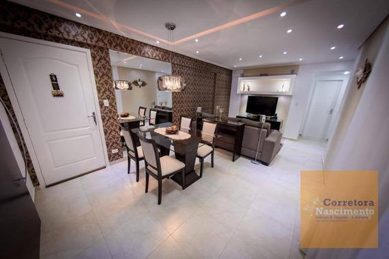 Apartamento Mobiliado No Residencial Carolina - Ap0958