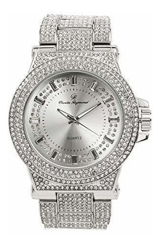 Bust Down Your Wrist With This Hip Hop Bling-ed Out - Reloj