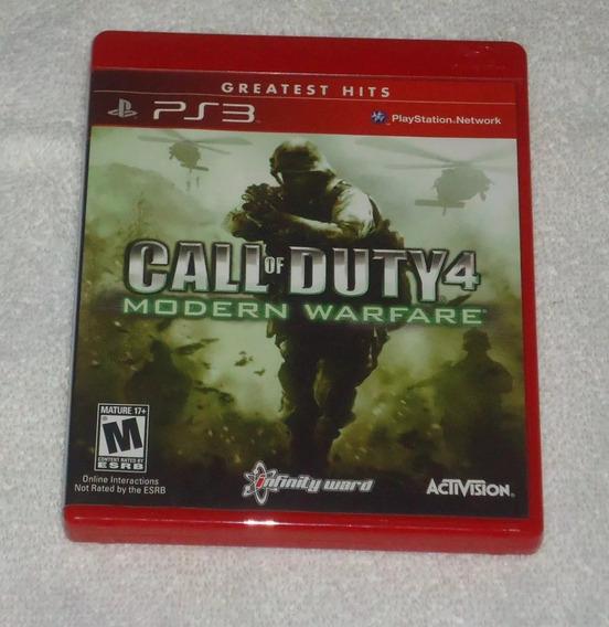 Call Of Duty 4 Modern Warfare Ps3 ** Leia
