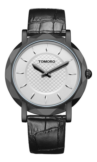 Relógio Branco Masculino Pulso Tomoro Analogico Promoção