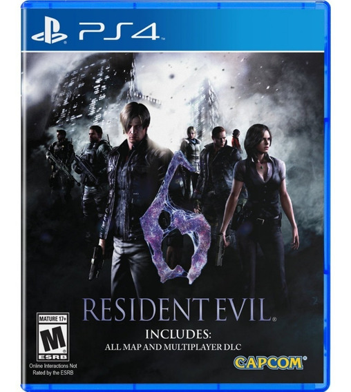 Resident Evil 6 - Ps4 Mídia Física Lacrada Original