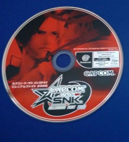 Capcom Vs Snk Millennium Fight 2000 Sega Dreamcast Japonês