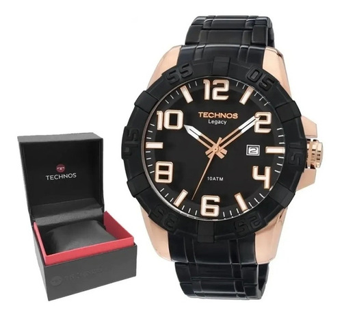 Relógio Technos Masculino Classic Legacy 2315abk/1p
