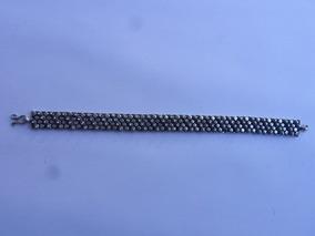 Pulseira Prata Bali 925 33 Gramas 19 X 1,2 Cm 44