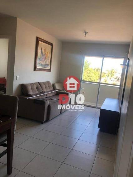 Apartamento Com 3 Dormitórios Para Alugar Por R$ 1.300,00/mês - Centro - Criciúma/sc - Ap2846