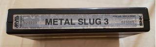 Metal Slug 3 Mvs Neo Geo