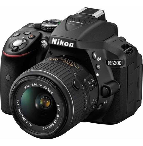 Nikon D5300 + Lente + Case