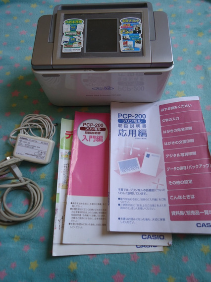 Impressora Fotográfica Portátil Foto Casio Pcp200 Japonês