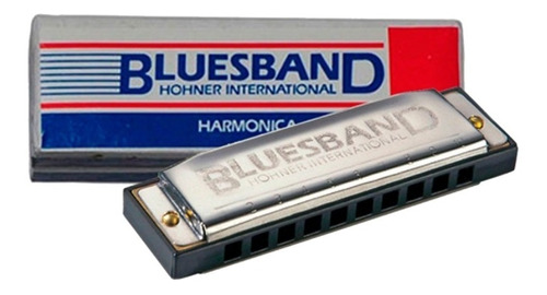 Armonica Blusera Diatonica En C Do Hohner Blues Band