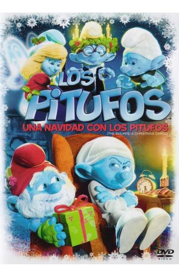 Una Navidad Con Los Pitufos Smurfs Christmas Pelicula Dvd