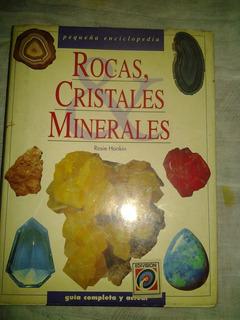 Libro Rocas, Cristales Minerales