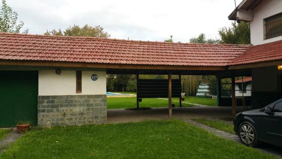Quinta Con Piscina, Excelente, (gran Bourg), (ruta 8 Y 197)
