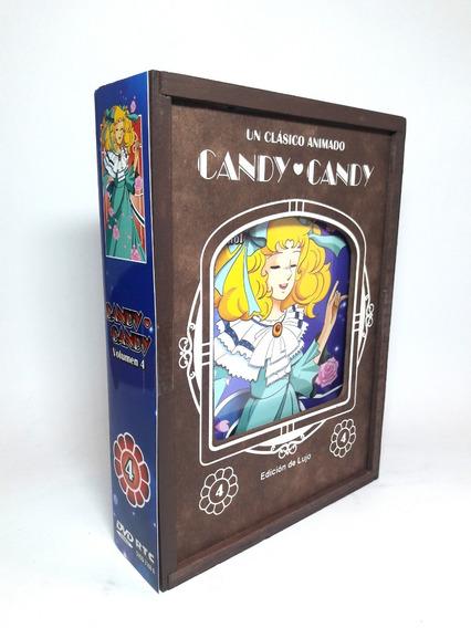 Candy Candy Cuarto Volumen 4 Cuatro Caja Madera Dvd