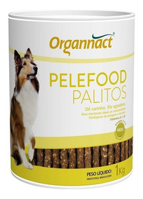 Pelefood Palitos 1kg Organnact