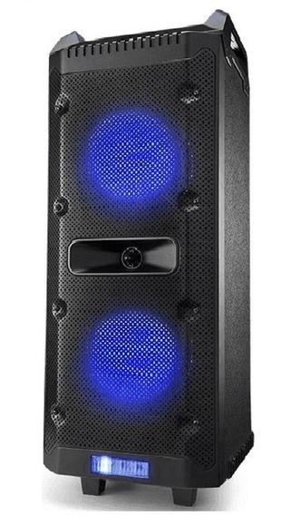 Caixa De Som Bluetooth 300w Rms Radio Fm Multilaser Sp290