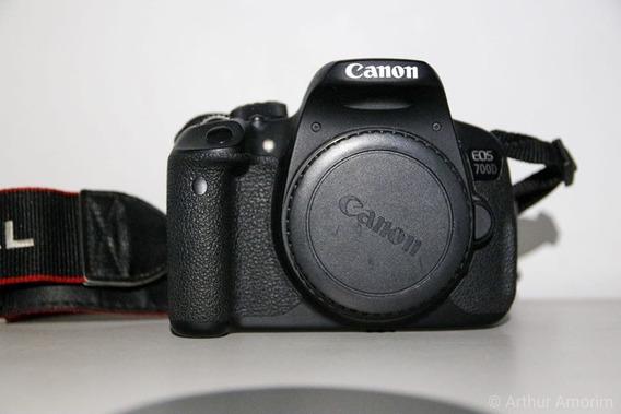 Câmera Dslr Canon Eos 700d T5i (corpo) + Bateria Extra