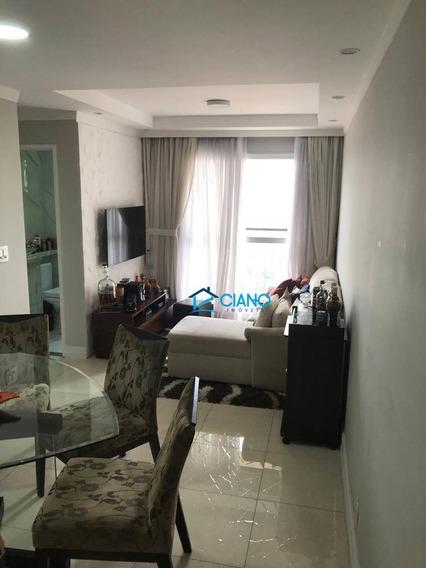 Apartamento Com 2 Dormitórios À Venda, 50 M² Por R$ 380.000 - Vila Carrão - São Paulo/sp - Ap1326